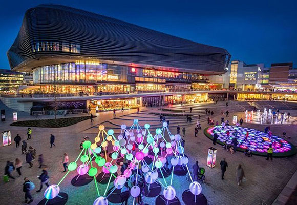 Affinity: an interactive sensory experience at Westquay Southampton