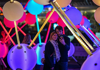 Affinity: an interactive sensory experience in Southampton