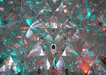 Beyond reality: KAZ SHIRANE's magical installations at Alfa Future People Festival