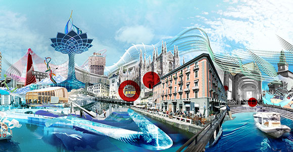 City of Flows: Unicredit commissions artwork to celebrate city of Milan