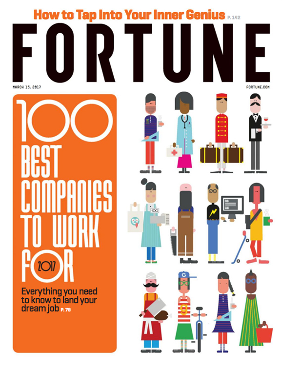 "Jonathan Calugi & Fortune's ""100 Best Companies to Work For"" 2017"