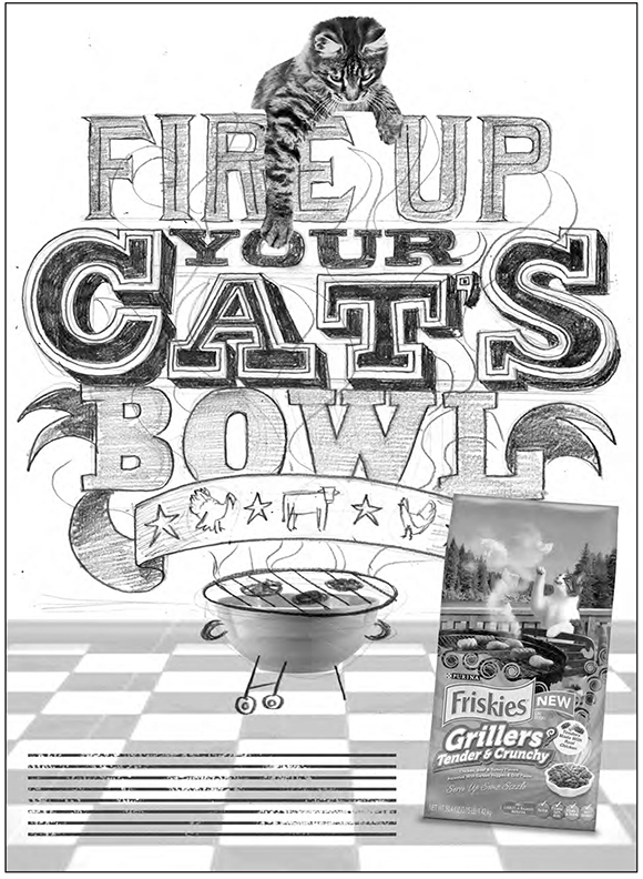 Jeff Rogers goes cat crazy for Friskies
