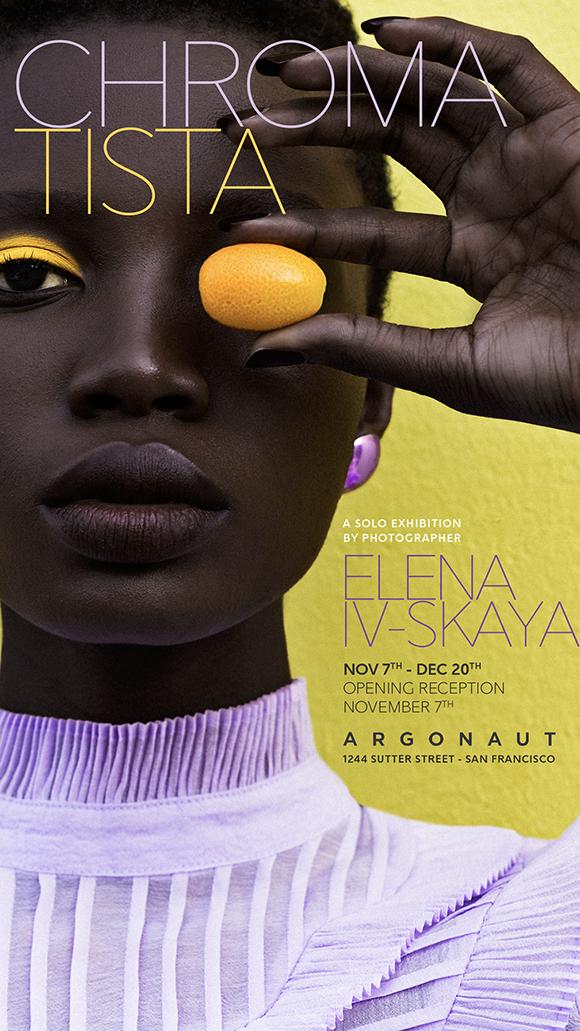 CHROMATISTA: Elena Iv-Skaya's solo show in San Francisco