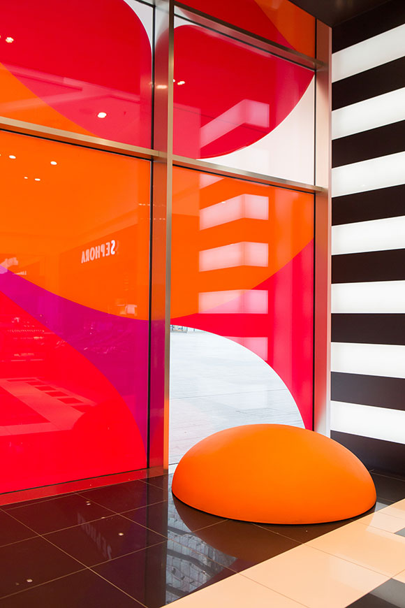The Design of Life: Ray Oranges for Sephora