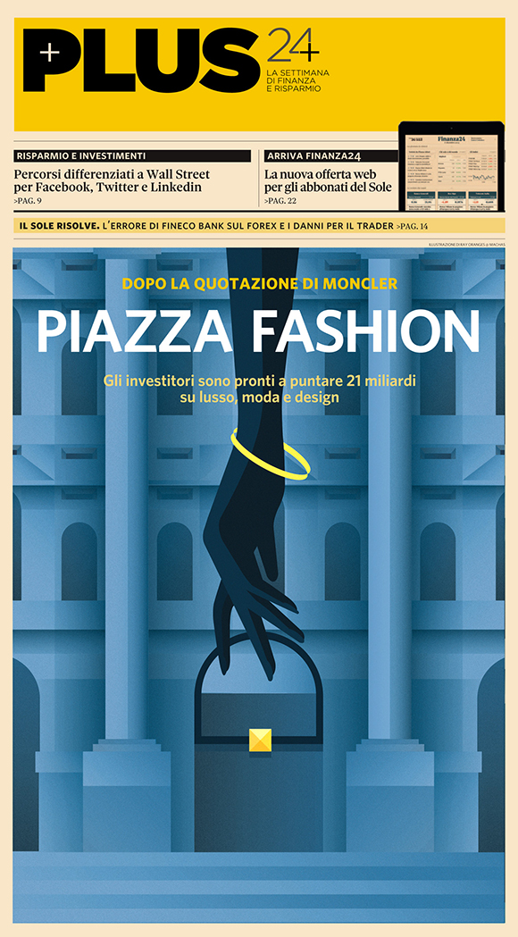 Piazza Fashion: Ray Oranges x Il Sole 24 Ore Plus
