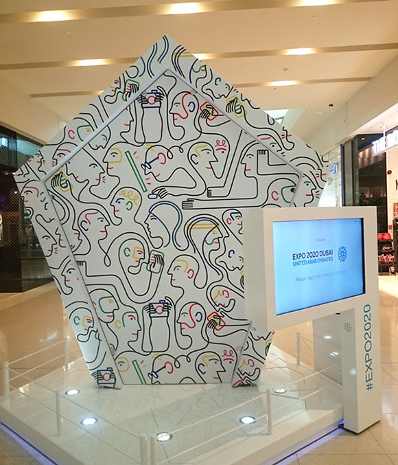 Jonathan Calugi for Dubai Expo 2020