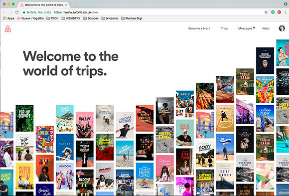 Airbnb's Future of Travel app launch featuring Ray Oranges