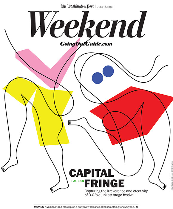 Jonathan Calugi for Washington Post's Capital Fringe issue