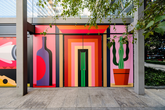 Eight Rooms: Agostino Iacurci at Principal Place Plaza, London