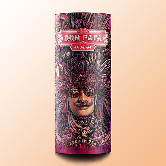 Fiesta: Olaf Hajek for Don Papa Rum Limited Edition