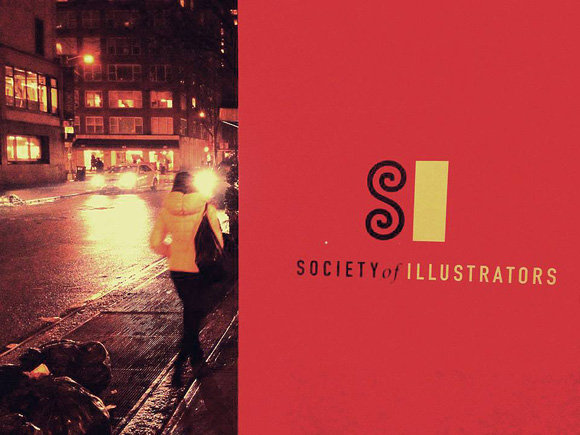 Ray Oranges - NYC Society of illustrators