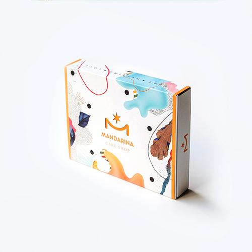 Cake My Day: Becha's sweet packagings for Mandarina Cake