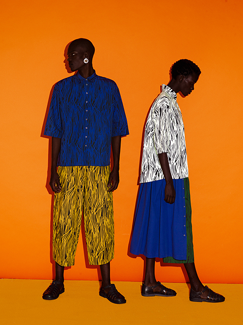 The beauty of Contrasts: Elena Iv-Skaya for Africa is Now