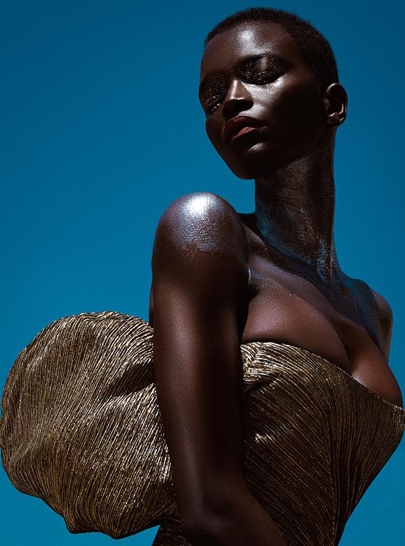 Beauty story: Oulimata Gallet by Elena Iv-Skaya