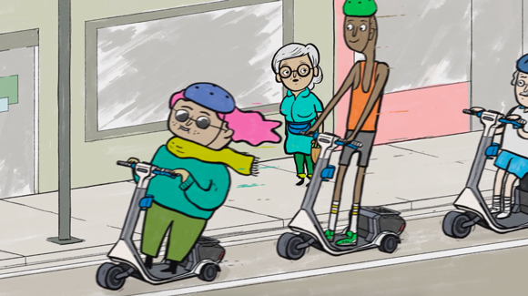 A Grüvy Vision: James Braithwaite x Grüv Scooters