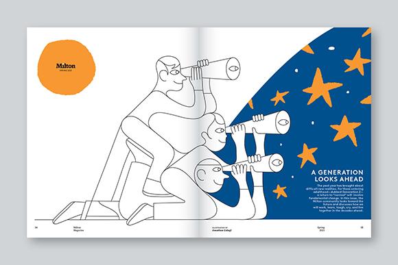 A Generation Looks Ahead: Jonathan Calugi for Milton Magazine