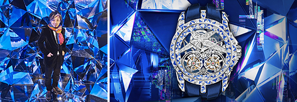 When Art and Haute Horlogerie meet: Kaz Shirane x Roger Dubuis