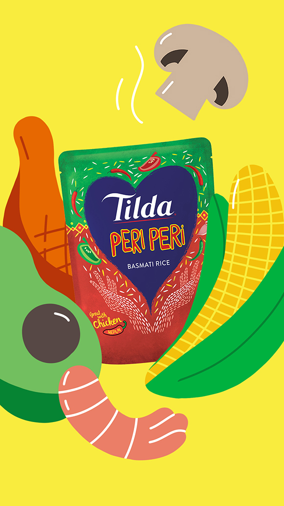 Peri-Peri your way! Miguel Ángel Camprubí for Tilda Rice