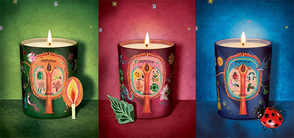 Lucky Charms Collection: Olaf Hajek for Diptyque