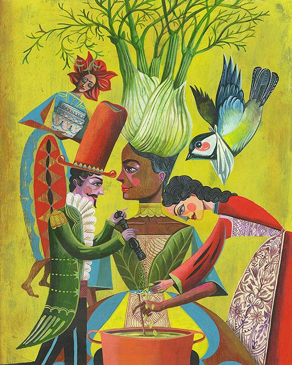Veggie Power: A new enchanting book by Olaf Hajek!
