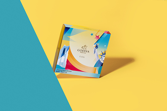 Souvenirs of the World: Ray Oranges for Godiva