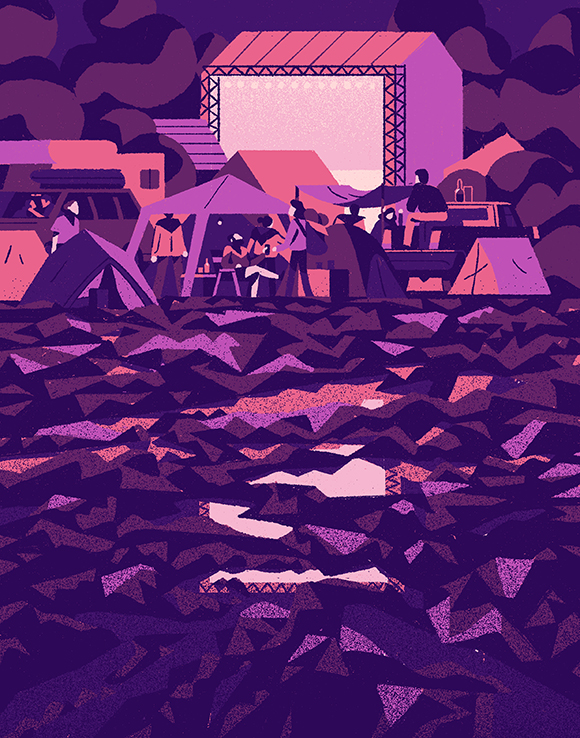 Constant Flow: Matteo Berton's on form with stream of editorial illustrations