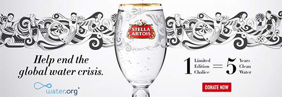 Raise a glass to change: Fernando Chamarelli for Stella Artois and water.org