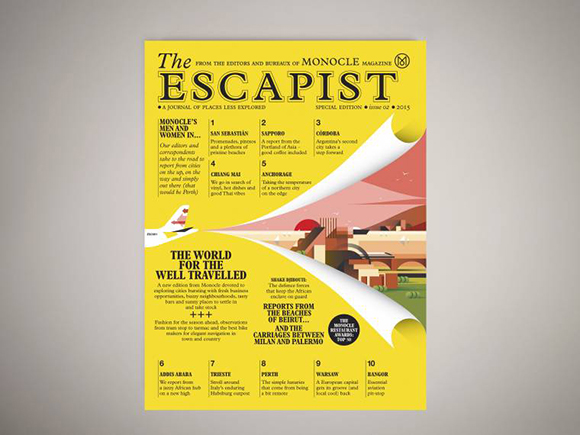 Take a trip around the world with Ray Oranges and The Escapist