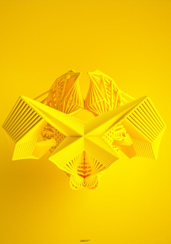 Math Generated Art: Leonardoworx' The Iterative Method