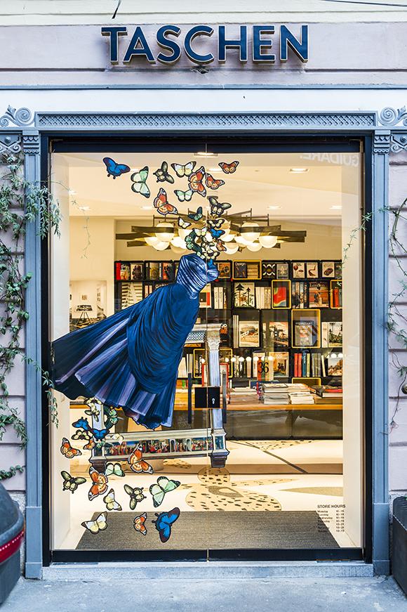 Wanda Barcelona x Taschen windows installation