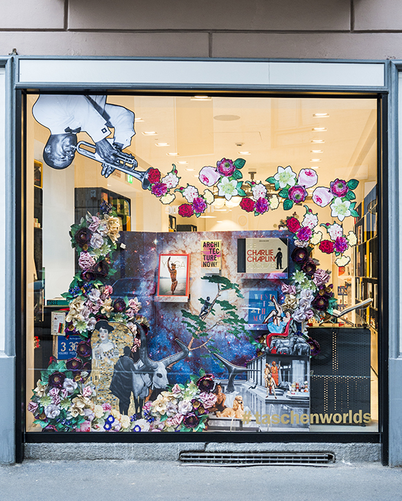 Wanda Barcelona x Taschen windows installation