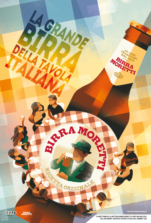 Back to the future: Birra Moretti's EXPO 2015 campaign