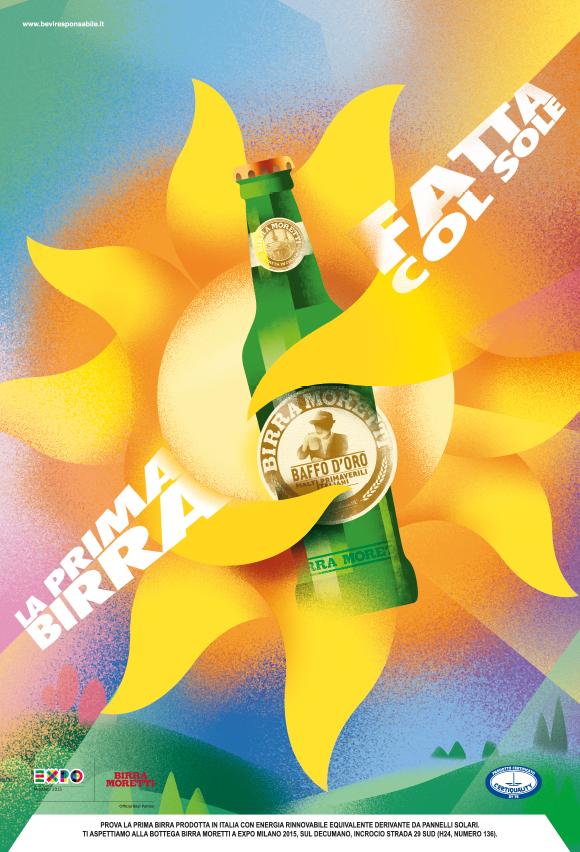 Back to the future: Birra Moretti's EXPO 2015 campaign