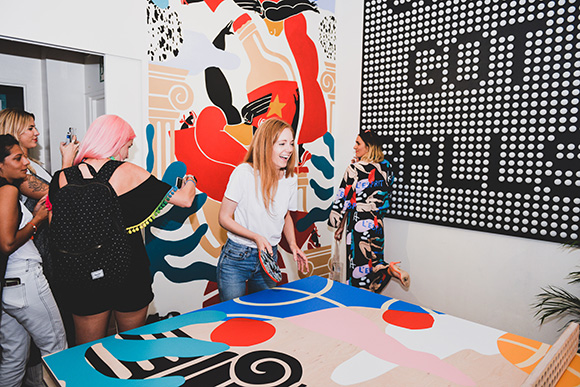 SHE STOLE THE SHOW: Kelly Anna's solo show opens in London