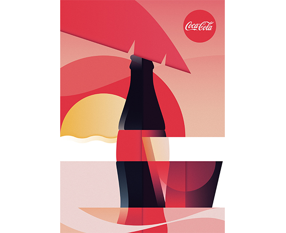 Ray Oranges coca cola