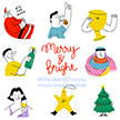 Miguel Angel Camprubi facebook stickers merry and bright