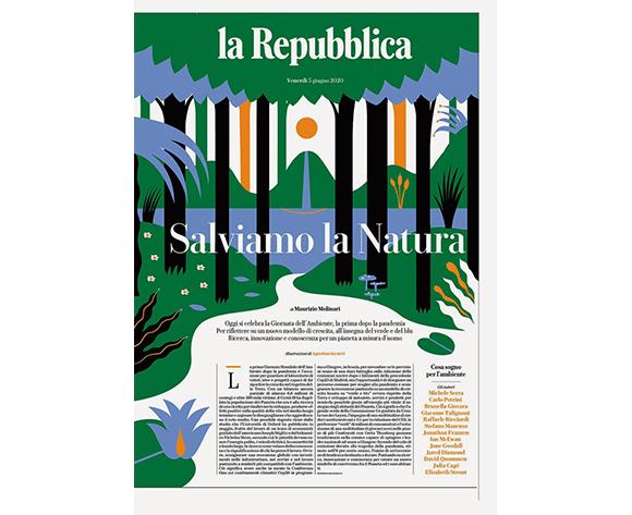 Agostino Iacurci - La Reppublica Salviamo la Natura