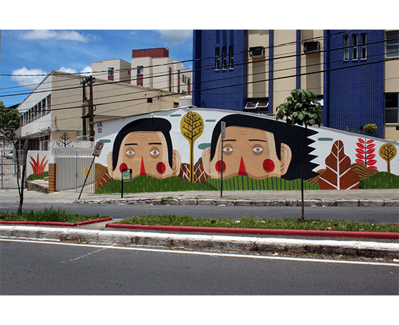 Agostino Iacurci Belo Horizonte Brazil Mural