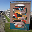 Agostino Iacurci Coincidences Oostende Mural