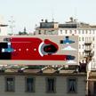 Agostino Iacurci Birds Milan Mural