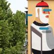 Agostino Iacurci The blind wall Rome