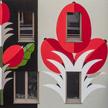 Agostino Iacurci Starbucks Milan Mural