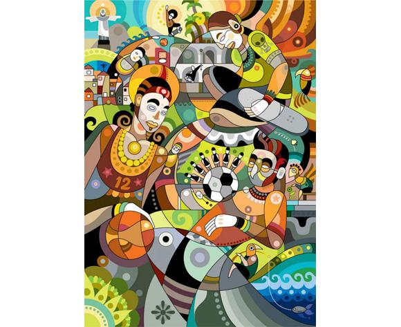 Machas Artist - Fernando Chamarelli - Nike Brazil Poster Image