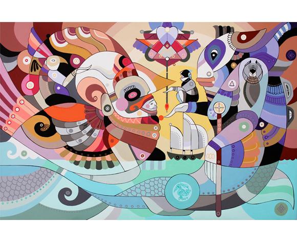 Machas Artist Fernando Chamarelli - Talent List - mural image 2