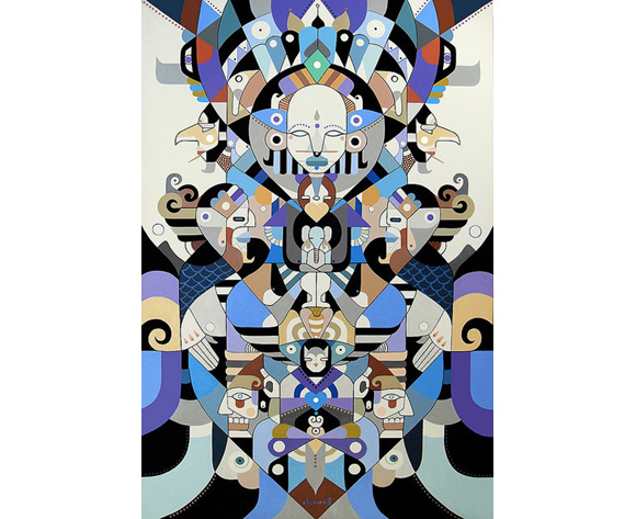 Machas Artist Fernando Chamarelli - Talent List - mural image 3