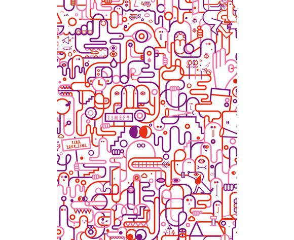 Machas Artist_Jonathan Calugi_Double Squiggle image 1