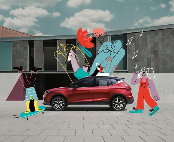 Miguel Angel Camprubi SEAT Campaign
