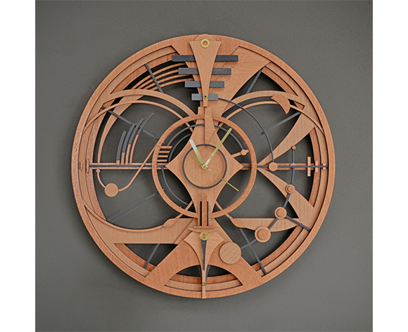 Tooco - sculpture clock