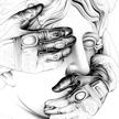 Ricardo Fumanal Bust & gloves