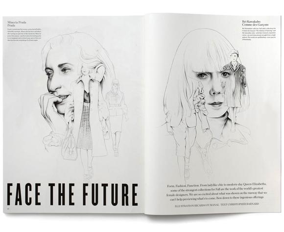 Ricardo Fumanal V magazine